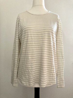 Woman by Tchibo Camisa larga beige claro-color plata