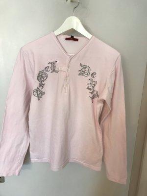 Angel Devil Longsleeve silver-colored-light pink