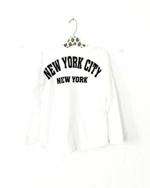 longsleeve • langarm shirt • weiss • schwarz • casual