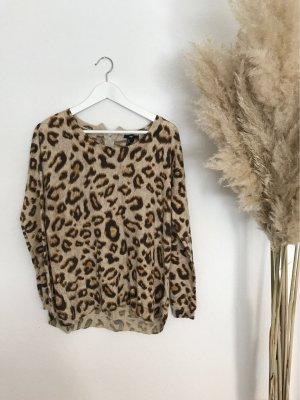 Longsleeve Leopard Print