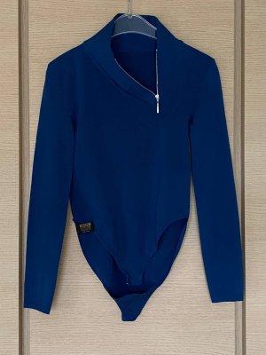 Wolford Body koszulowe ciemnoniebieski-niebieski