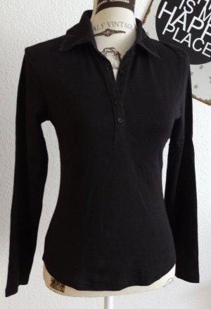 Zero Polo shirt zwart Katoen