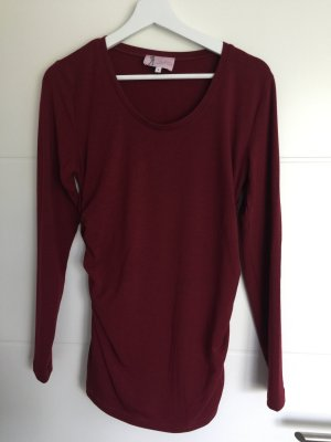 Longsleeve rot Umstandsmode von Paulina
