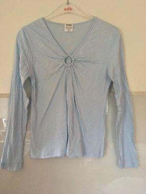 Basic Line V-Neck Sweater multicolored cotton