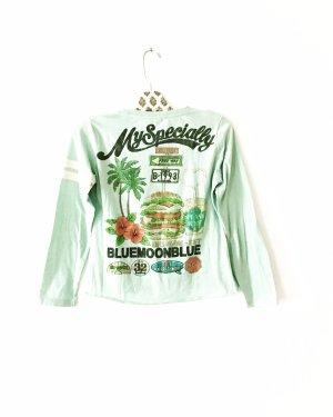 longsleeve • shirt • mint • vintage • bluemoonblue