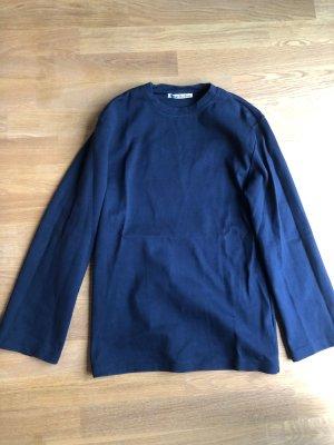 Acne Bluza dresowa ciemnoniebieski