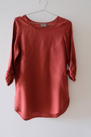 Vero Moda Top long rouille viscose