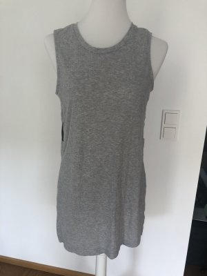 Only Top cut out gris claro-gris