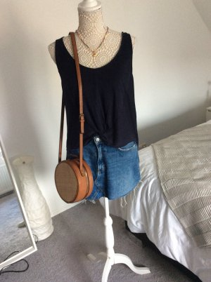 Longtop mit Knotendetail Pull&Bear