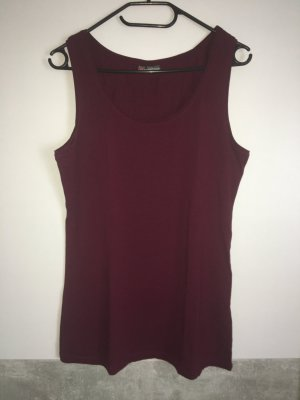 Street One Top long rouge carmin lycra
