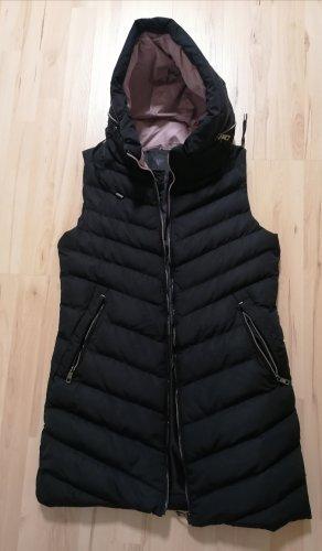 ature Capuchon vest zwart-rosé