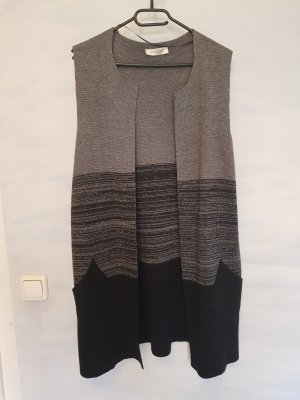 Cocogio Long Knitted Vest multicolored