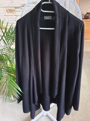 C&A Lang gebreid vest zwart