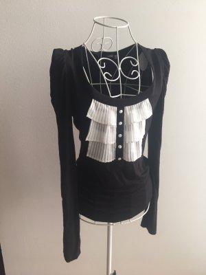 3suisses collection premium Longsleeve black-white