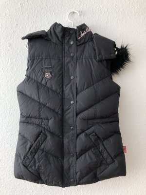 Lonsdale Quilted Gilet black-light pink nylon