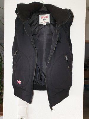 Lonsdale Hooded Vest black