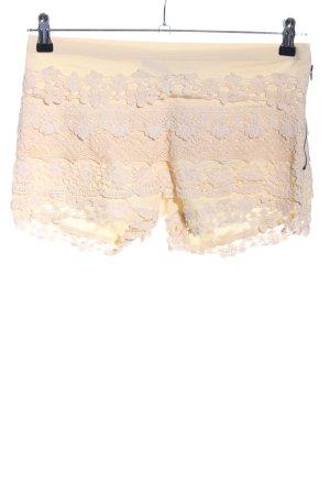 Lookbookstore Hot pants crema-color carne stile casual
