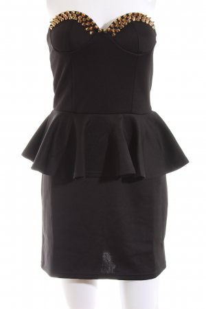 Lookbookstore Peplum Dress black casual look
