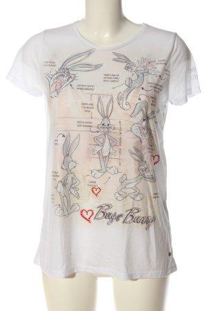 Looney Tunes T-shirt imprimé avec thème style décontracté