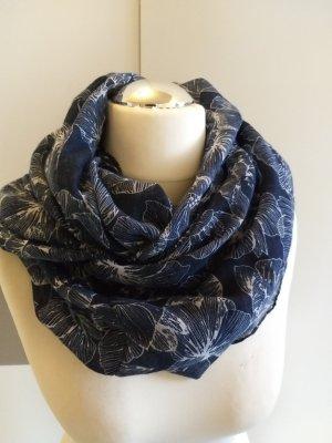 Multiblu Pañoleta azul oscuro-blanco Poliéster