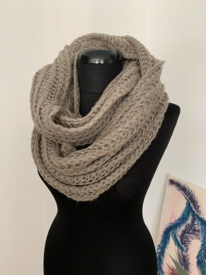 Tube Scarf grey brown-grey