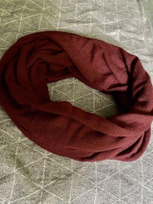 H&M Caperuza rojo amarronado tejido mezclado