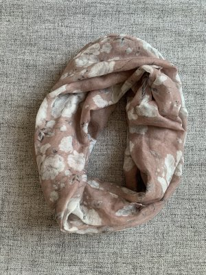Primark Tube Scarf light grey-rose-gold-coloured