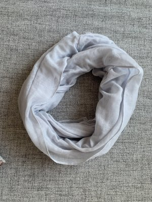 Primark Tube Scarf pale blue-slate-gray