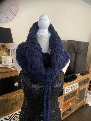 Vero Moda Bufanda tubo azul oscuro-azul