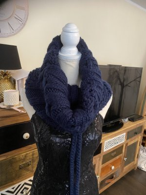 Loop Schal neu blau dick und warm