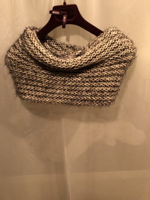 Opus Snood natural white-black