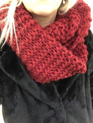 Zara Caperuza rojo oscuro-rojo ladrillo