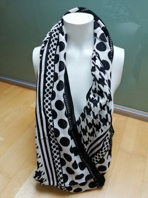Esprit Zomersjaal wit-zwart