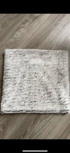 Opus Bufanda tubo blanco-marrón grisáceo