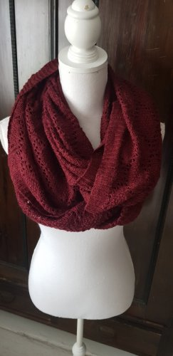 H&M Divided Tube Scarf carmine-bordeaux