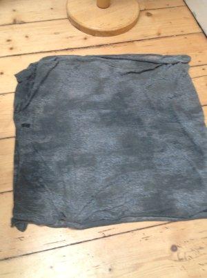 Marc Cain Caperuza gris verdoso tejido mezclado
