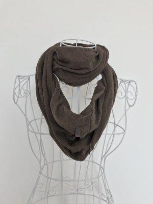 Esprit Bufanda tubo marrón Algodón