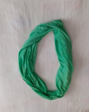 keine Neckerchief green mixture fibre