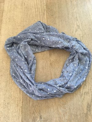 C&A Tube Scarf cornflower blue-black