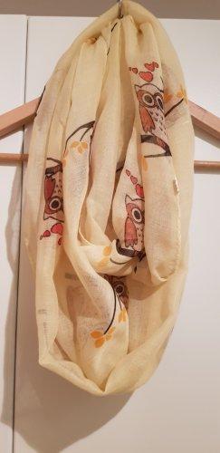 no name Bufanda tubo marrón-amarillo claro