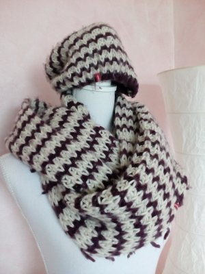 Manguun Knitted Scarf multicolored polyacrylic
