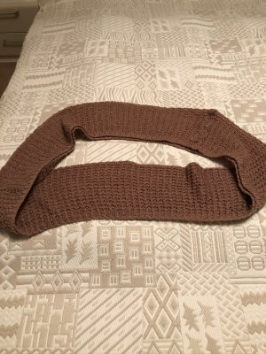 Pieces Tube Scarf russet mixture fibre