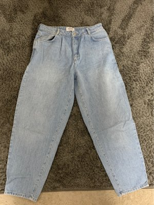 AWARE Baggy jeans azuur