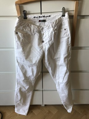 loose fit jeans von only 25/32 weiss