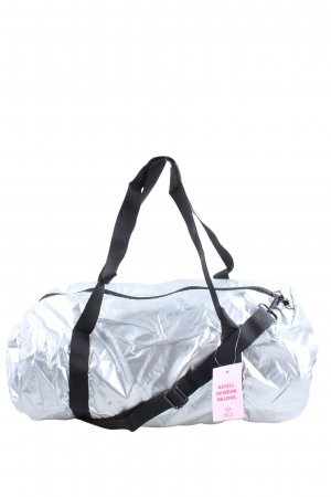 Loqi Turn Bag silver-colored-black wet-look