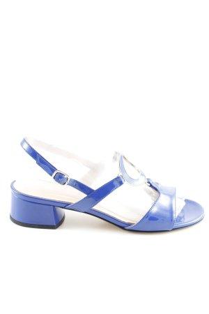 Lorbac Riemchen-Sandaletten blau Casual-Look