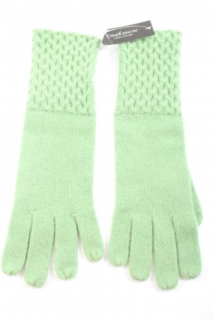 lord & taylor Knitted Gloves green casual look