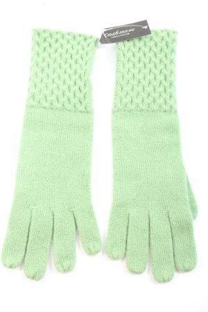 lord & taylor Rękawiczki z dzianiny zielony W stylu casual