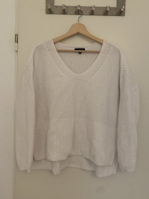 lord & taylor Long Sweater white mixture fibre