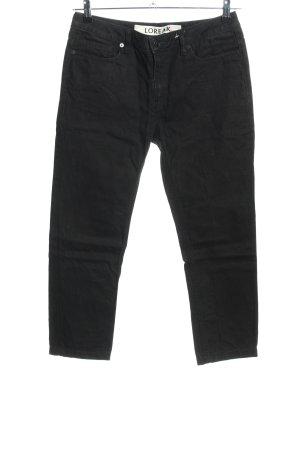 Loreak Mendian 7/8 Jeans schwarz Casual-Look